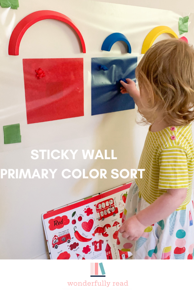 sticky wall color sort