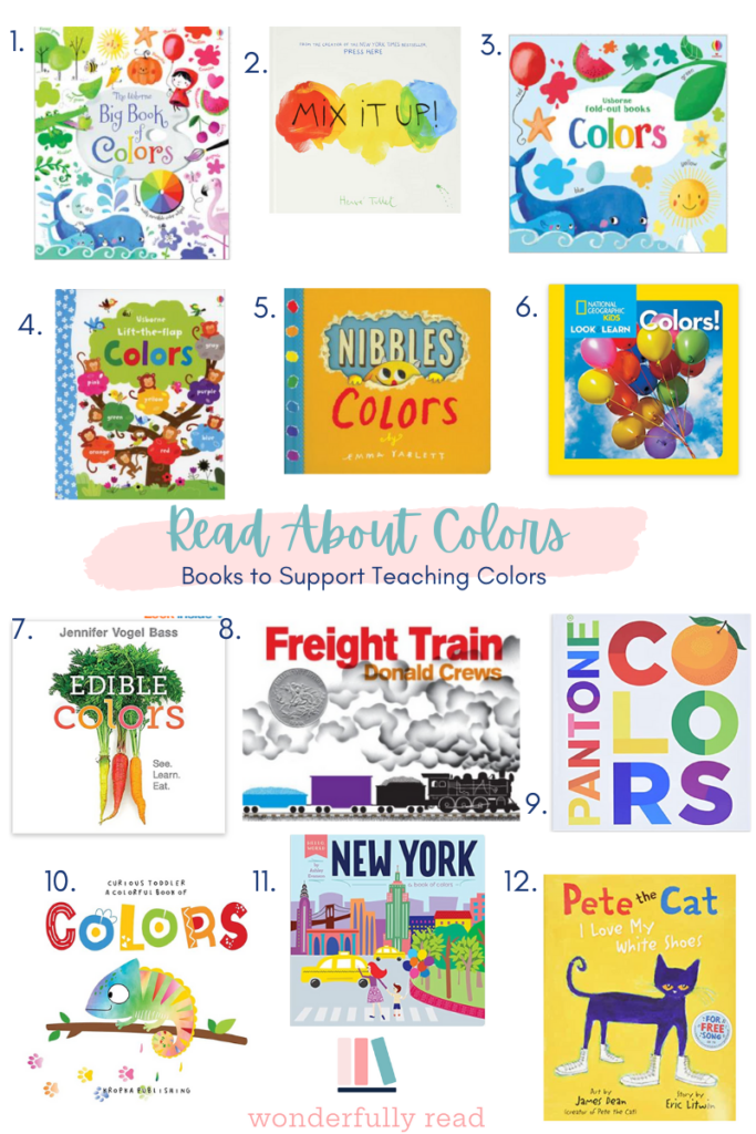 books about teaching colors