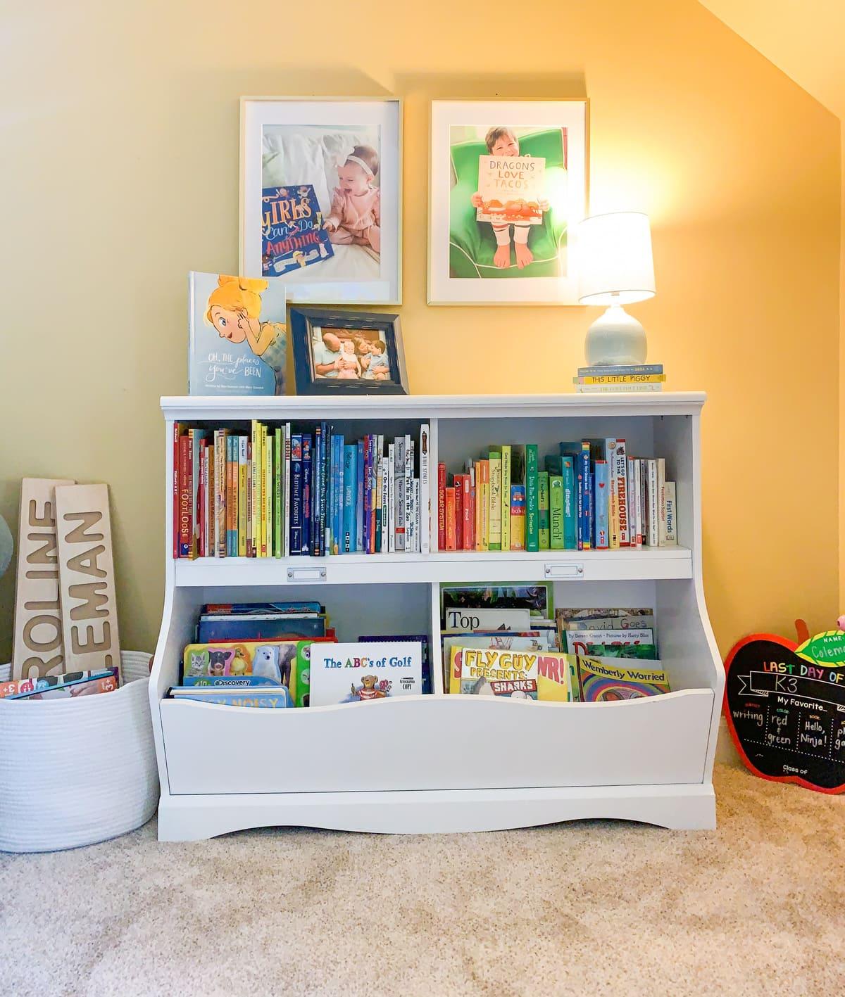 children's book storage