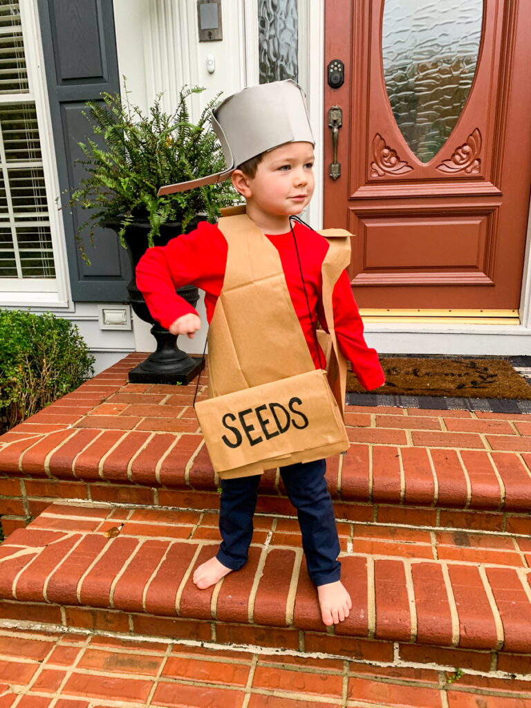 Johnny Appleseed costume for kids