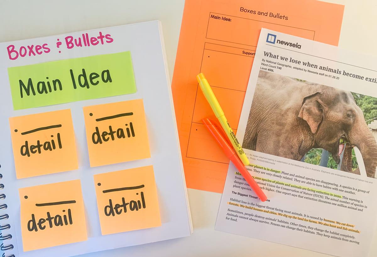 Teaching Main Idea & Details