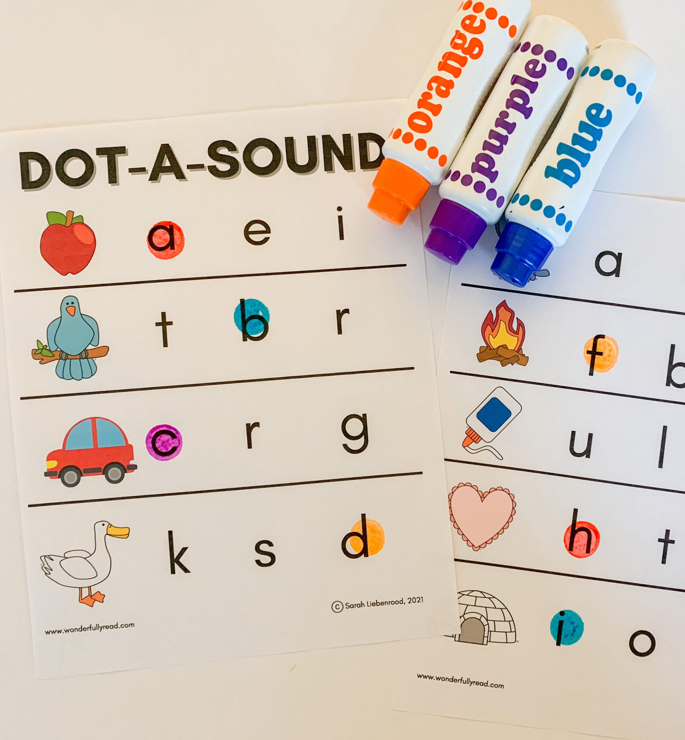 Dot-A-Sound Beginning Letter Activity