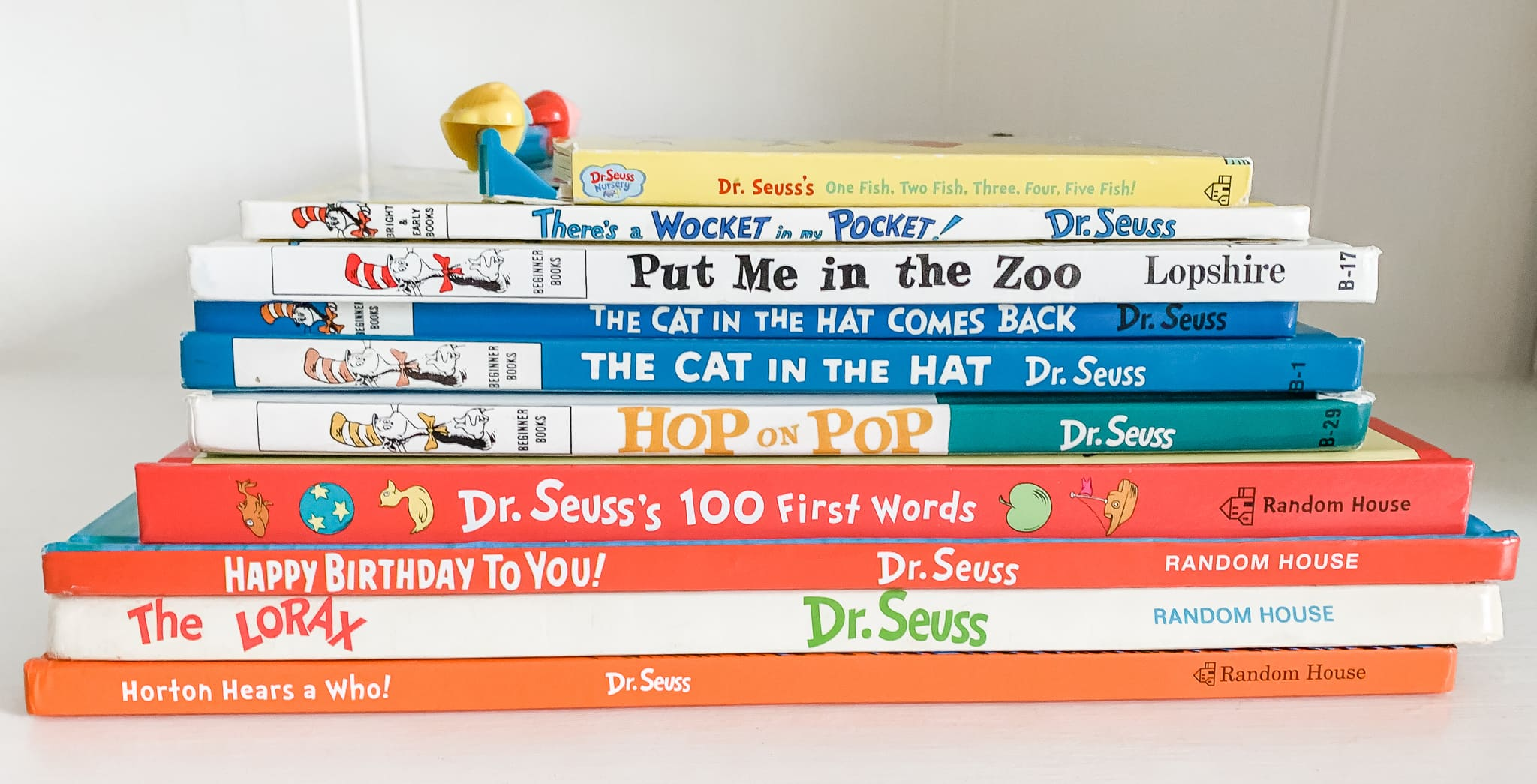 Dr. Seuss Book Basket