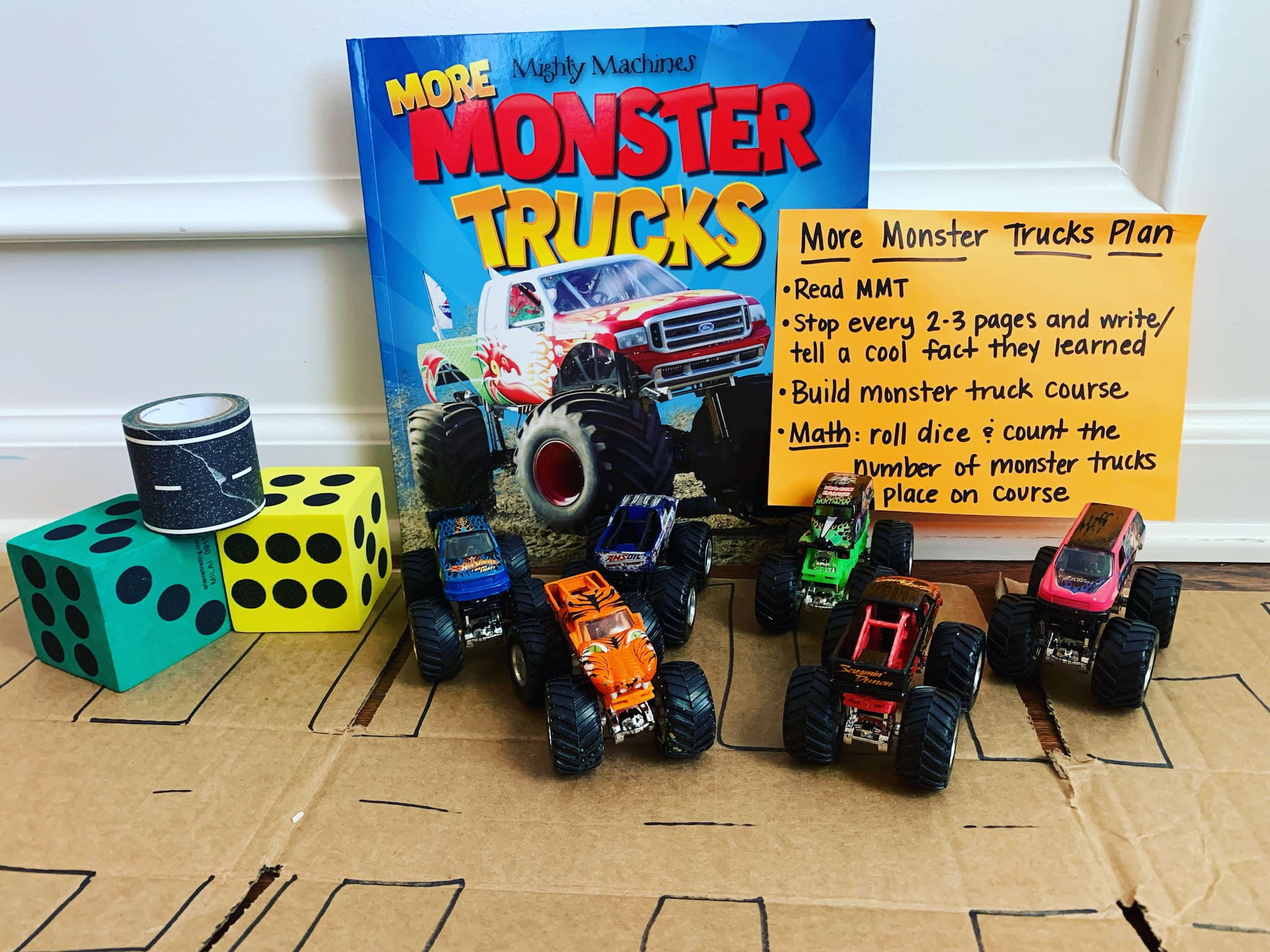 Read, Play, Talk – Monster Trucks